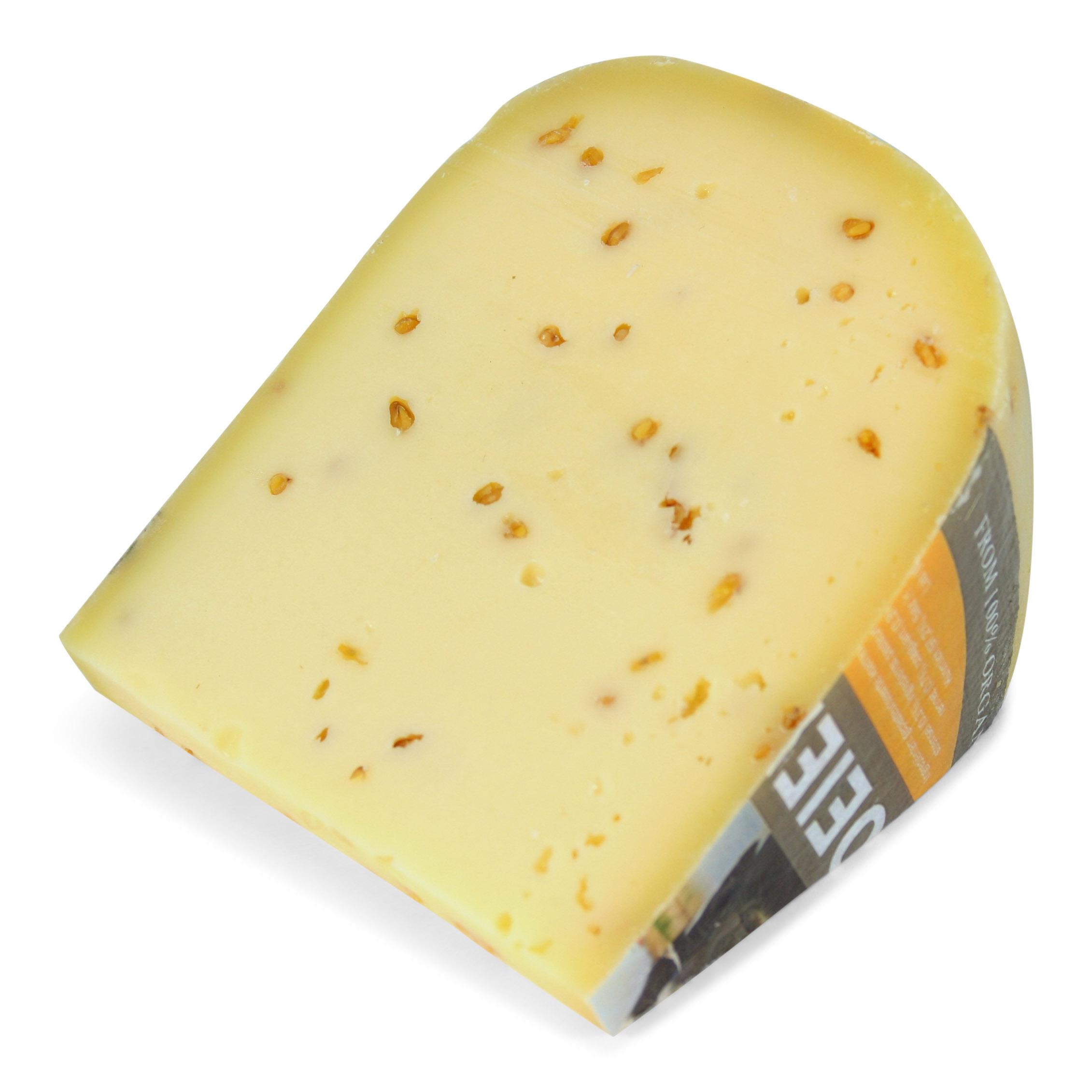 Biologisch vegetarische Fenegriek kaas 48+   Vanaf 250gr