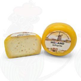 Gouda Farmer's Cheese | Onion pepper garlic cheese | Entire cheese 400 grams / 0.88 lbs